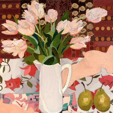 1087-Still-life-with-pink-tulips
