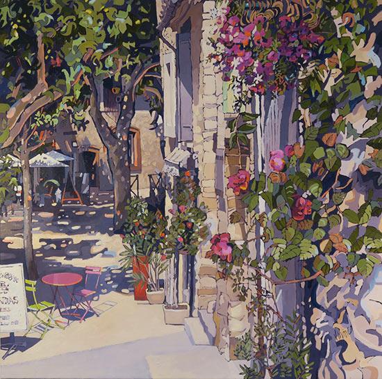 1136-Late-afternoon-Gigondas-Provence